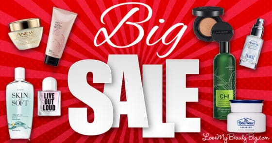 Avon Sale Of The Year Stock Up Now And Save Love My Beauty Biz